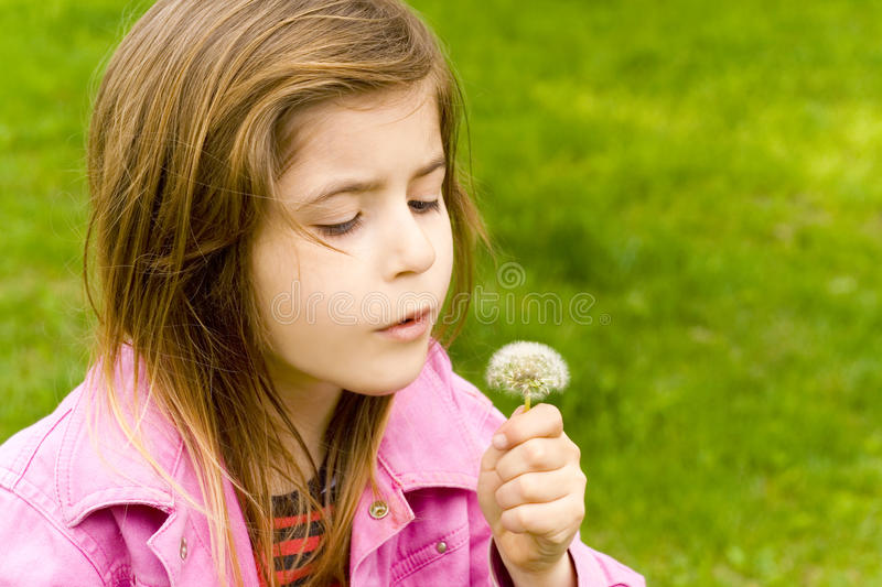 Happy child of nature royalty free stock images