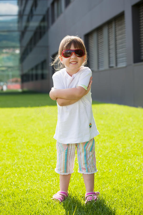 Download Happy Child With Sunglasses Stock Photo - Image: 9729362