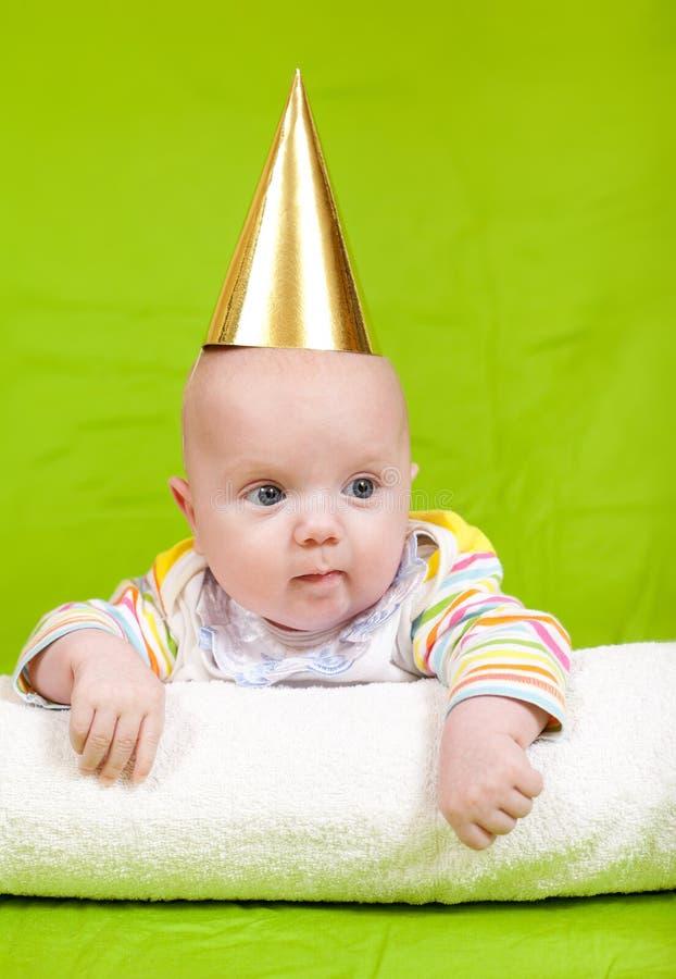 Download Happy childhood stock photo. Image of golden, look, months - 23210442