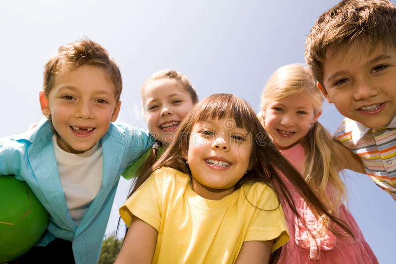 Download Happy Children Royalty Free Stock Image - Image: 10739646