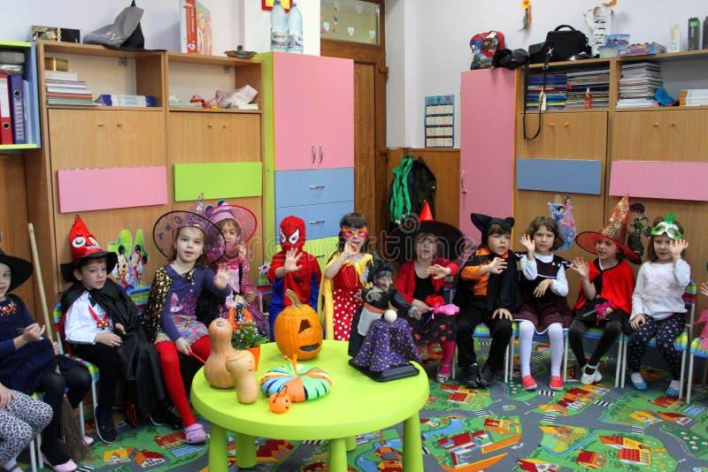 Download Happy Children On Halloween Editorial Stock Photo - Image: 34855728