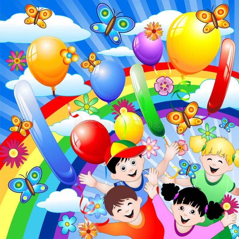Free Happy Children S Birthday Stock Image - 20049541