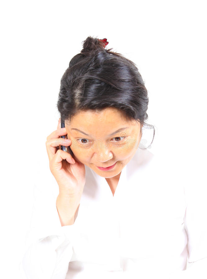 Download Happy Chinese Business Woman Stock Image - Image: 20756225