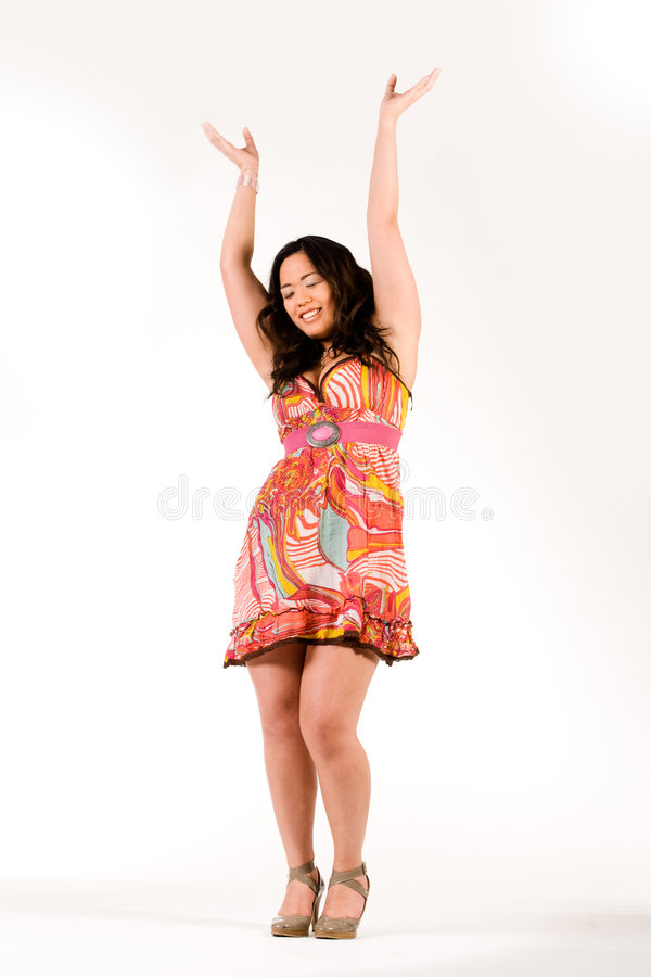 Free Happy Chinese Girl Stock Photography - 4601172