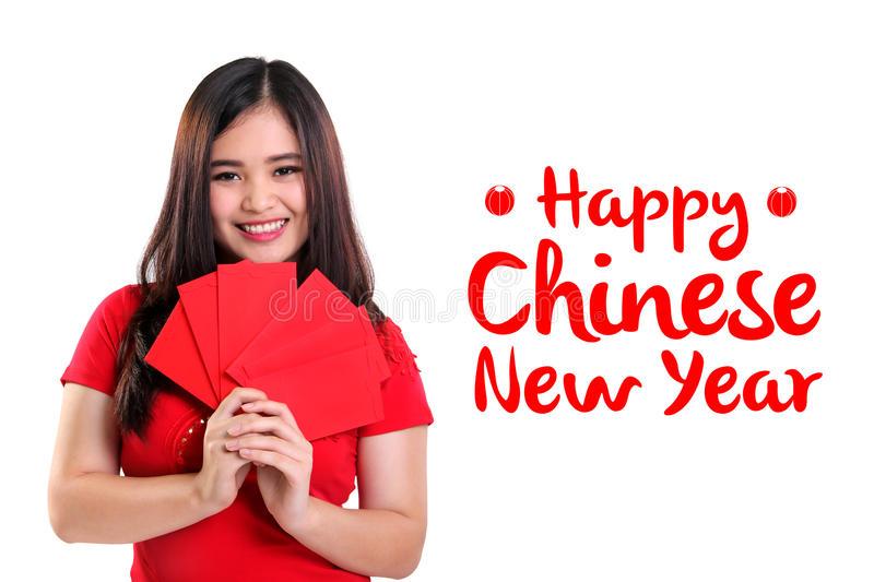 Happy Chinese New Year background design royalty free stock photography