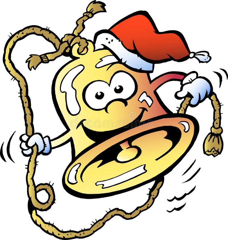 Happy christmas bell