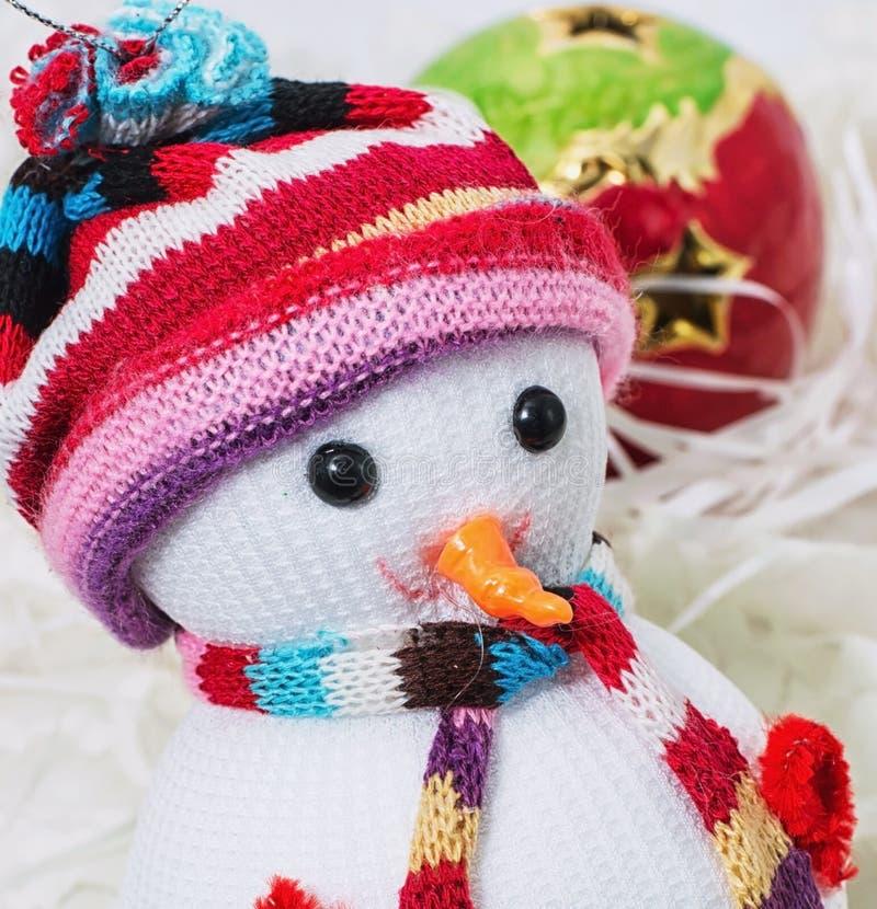 Happy Christmas. Foto Christmas happy snowmans stock photo