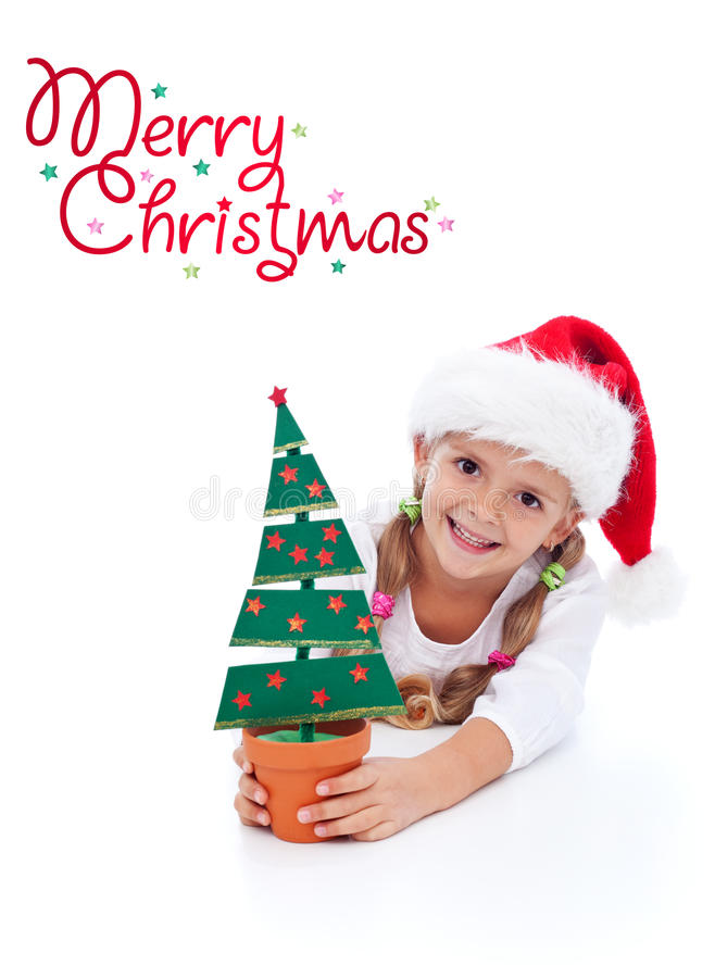 Download Happy christmas girl stock photo. Image of happiness - 21612098