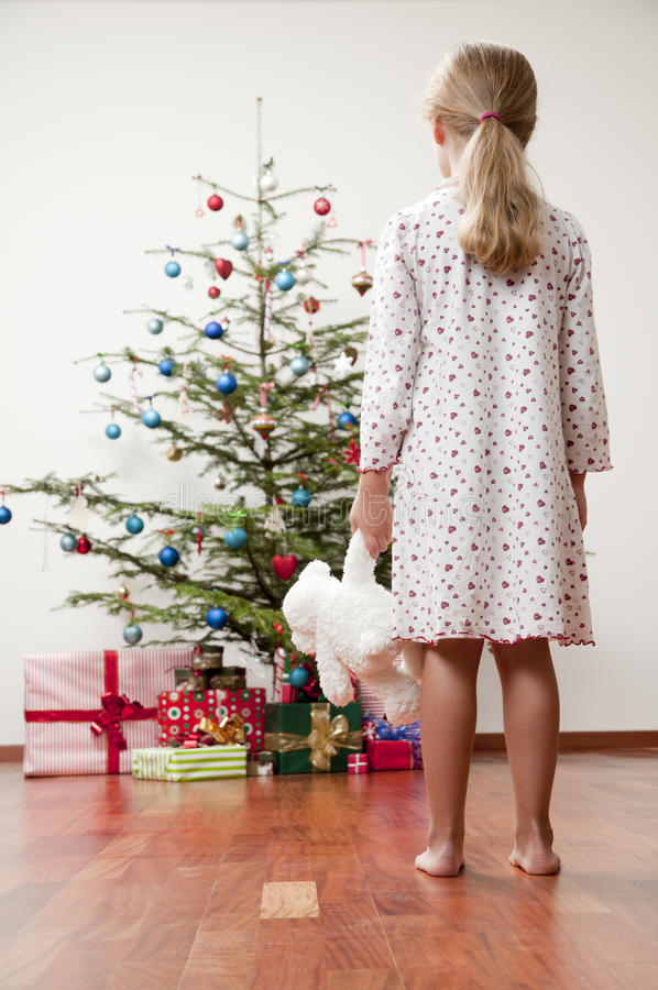 Download Happy Christmas morning stock photo. Image of people - 16816720