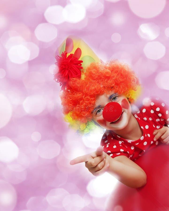 Download Happy clown stock photo. Image of finger, copy, happy - 26625808