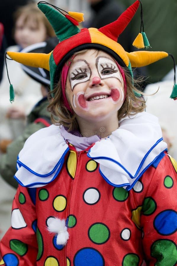 Happy clown royalty free stock photos