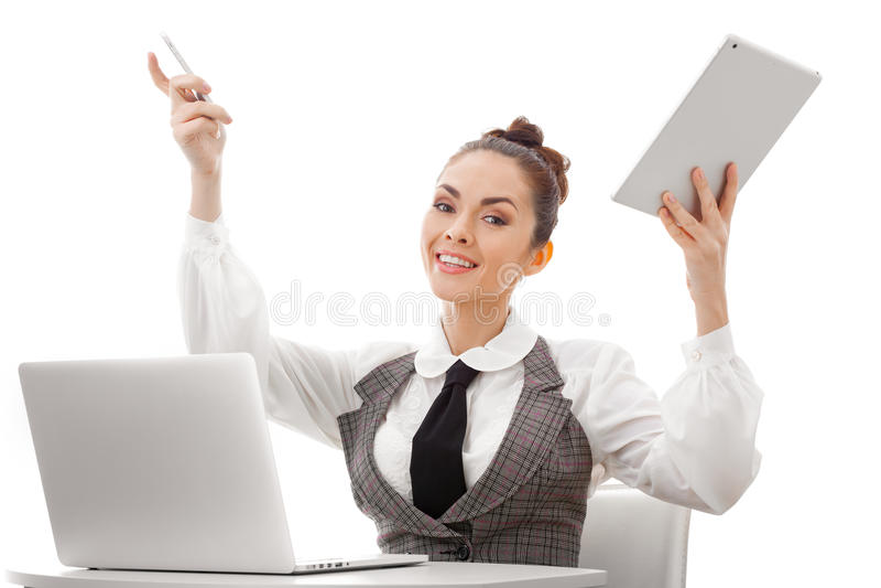 Happy Computer User
