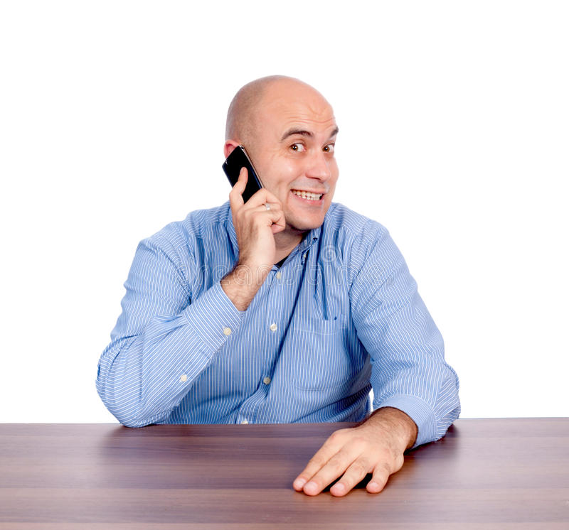 Download Happy conversation stock photo. Image of adult, bald - 27573134