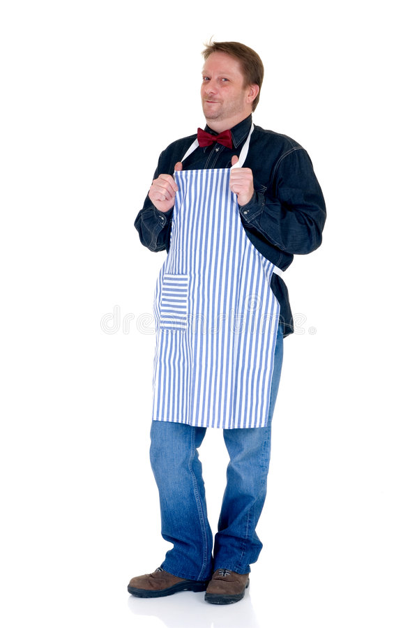 Happy cook royalty free stock photography