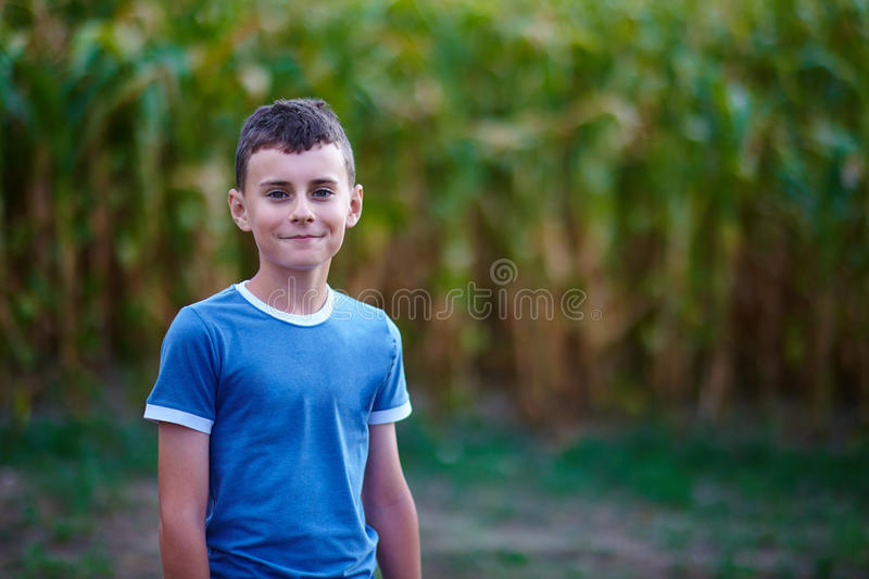 Download Happy country boy stock image. Image of farmer, countryside - 41071723