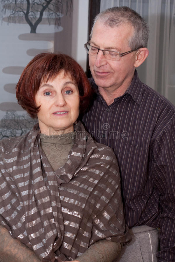 Download Happy couple stock photo. Image of senior, christmas - 12380428