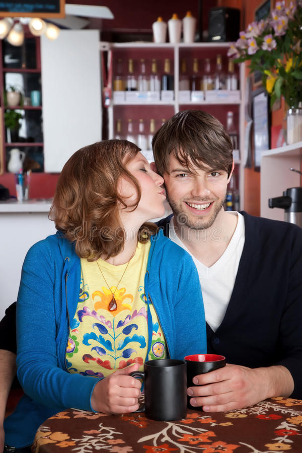Download Happy couple stock image. Image of couples, coffee, pretty - 14857627