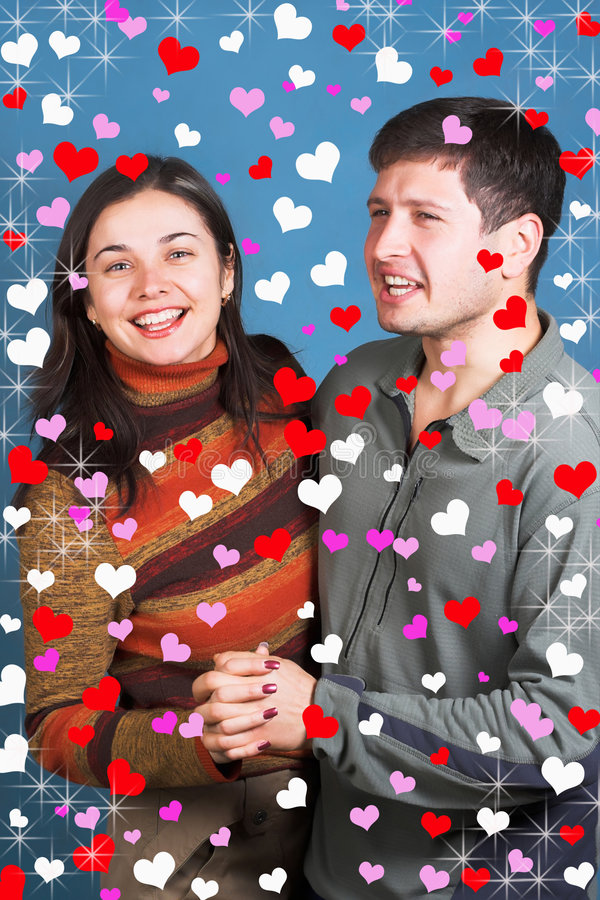 Happy couple royalty free stock photos