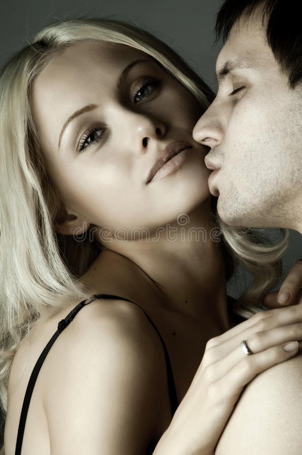 Download Happy couple stock image. Image of pair, lover, kisses - 25094431
