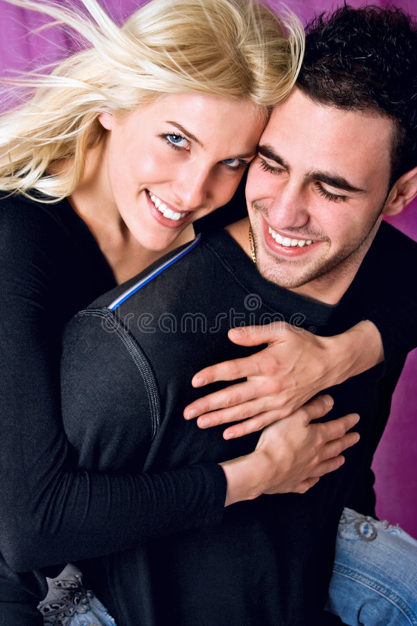 Download Happy couple stock photo. Image of blond, laugh, male - 3789136