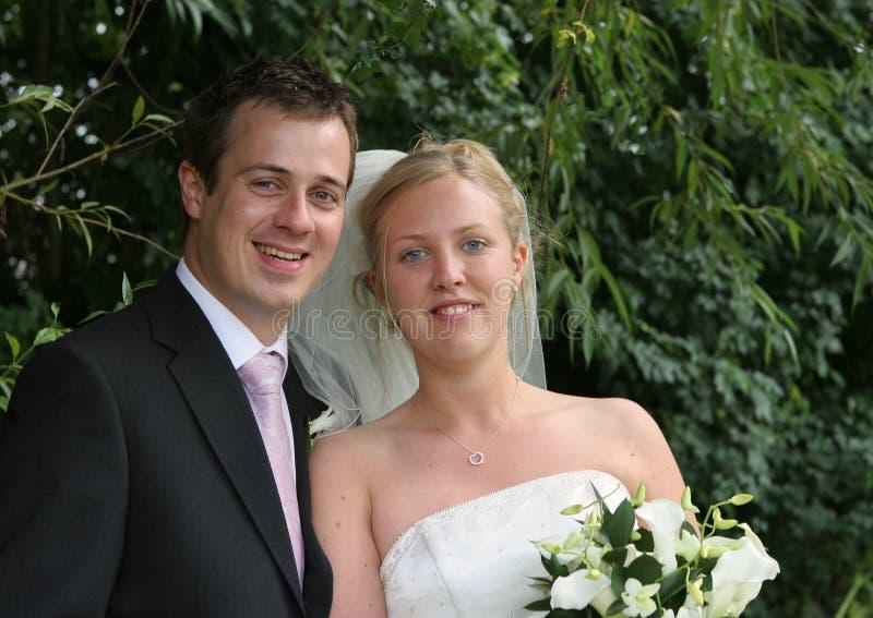 The Happy Couple royalty free stock photos