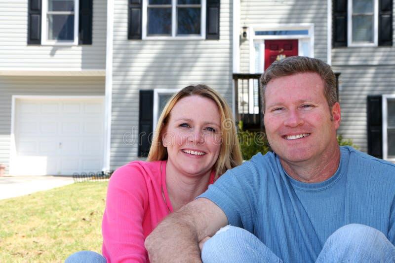 Happy Couple royalty free stock photography