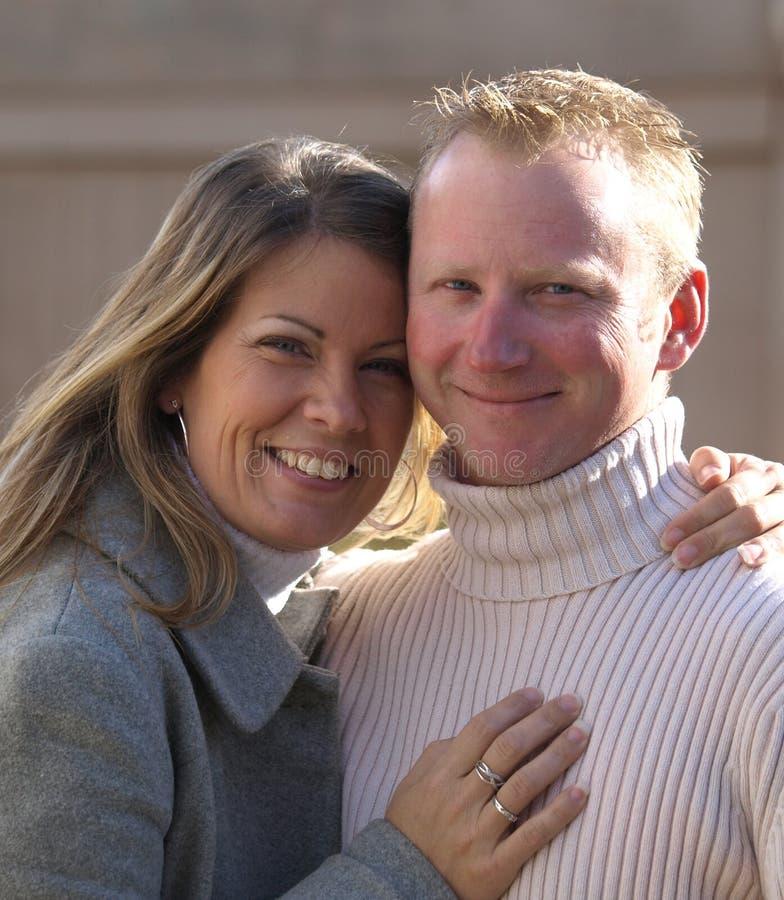 Happy Couple. Stock Image