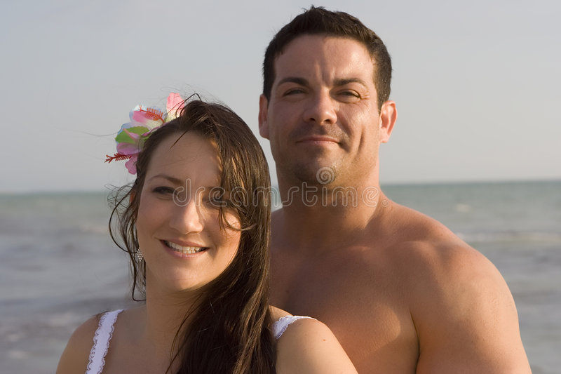 Download Happy couple on a beach stock image. Image of romantic - 2629419
