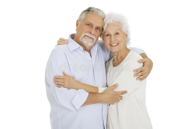 Download Happy couple of elderly stock photo. Image of happy, standing - 17366796