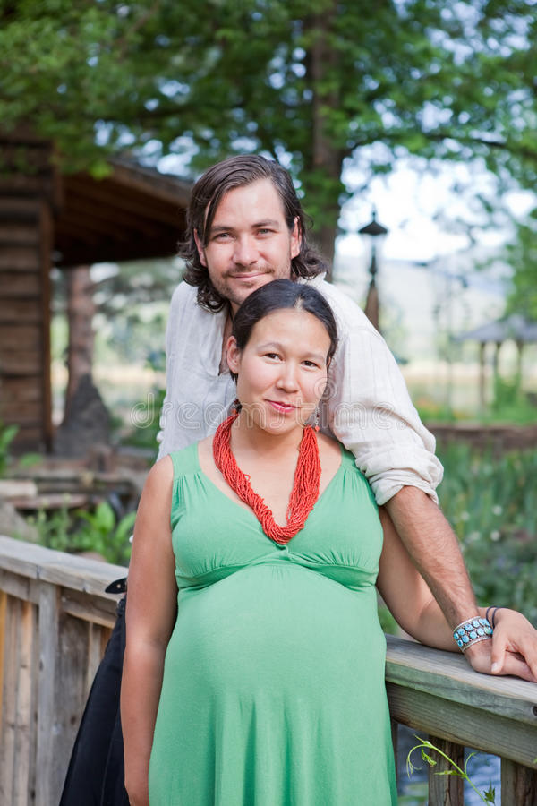 Download Happy Couple Expecting A Baby Stock Photos - Image: 20198873