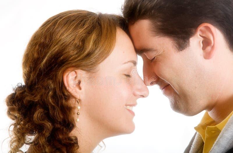 Happy couple full of love