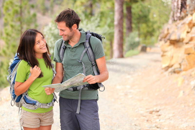 Download Happy couple hiking stock photo. Image of horizontal - 23952346