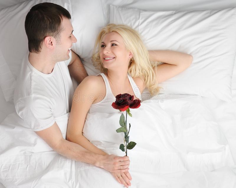 Download Happy couple at honeymoon stock image. Image of family - 13600535