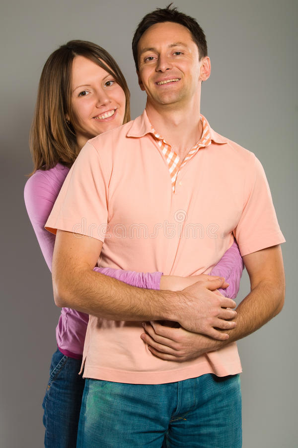 Download Happy couple hugging stock image. Image of male, young - 12524419