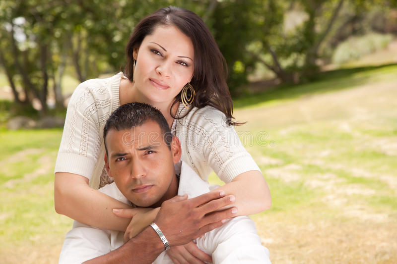 Download Happy Couple in the Park stock image. Image of female - 9811553