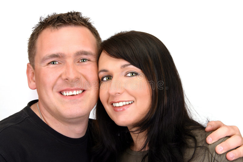 Download Happy Couple - Portrait stock image. Image of male, white - 117233