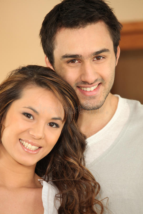 Download Happy couple posing stock image. Image of consistency - 26462289