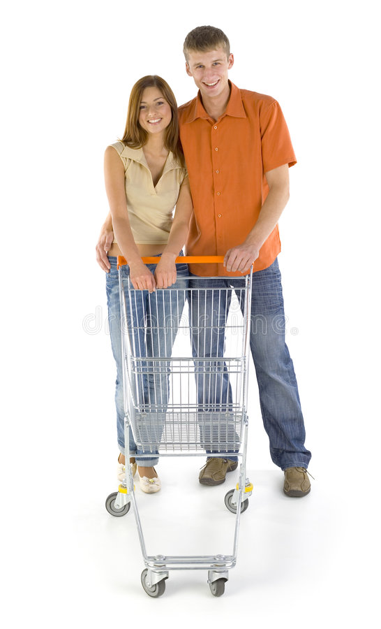 Download Happy couple in shop stock image. Image of people, buying - 2918039