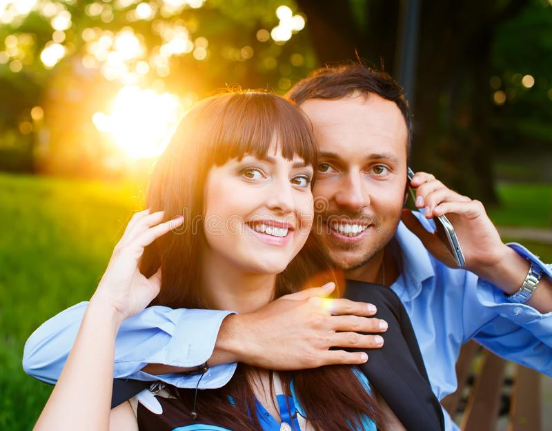 Download Happy couple stock photo. Image of human, couple, holding - 34005330