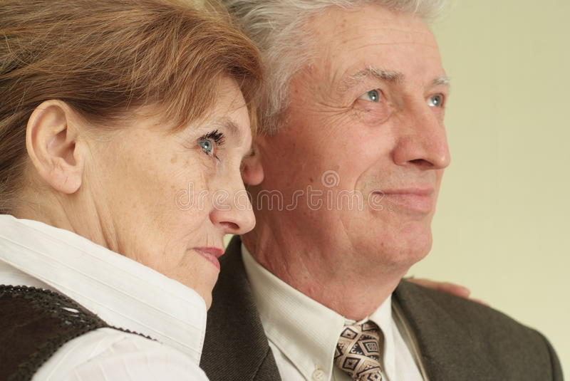 Download Happy  Couple Standing And Looking Ahead Royalty Free Stock Photography - Image: 13031187
