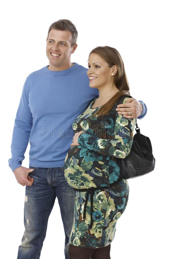 Download Happy Couple Waiting For Baby Stock Photography - Image: 34135052