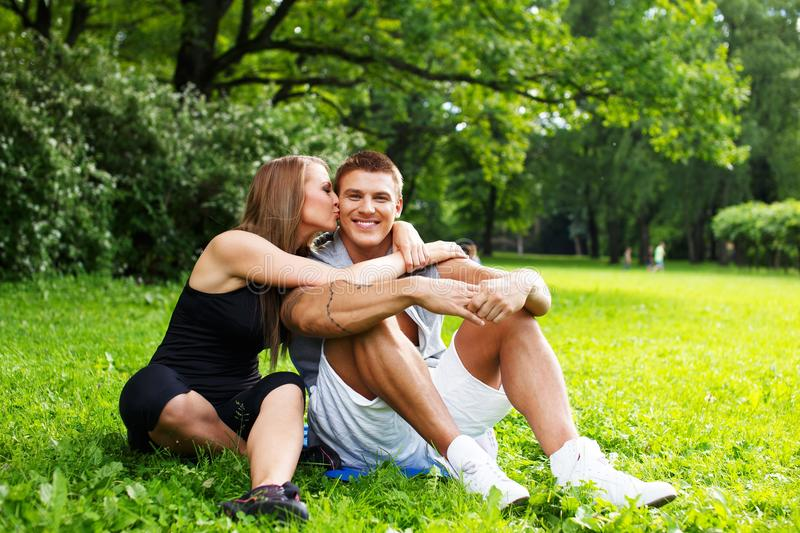 Download Happy couple stock image. Image of male, handsome, casual - 34005209