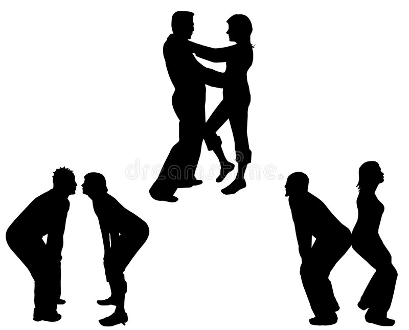 Download Happy Couples stock vector. Image of people, friends, dancing - 2164636