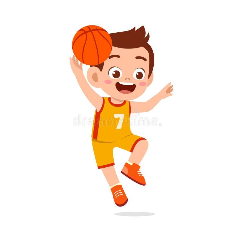 Kids Childrens T-Shirt Basket ball-8 Colours Keep Calm and Play Basketball