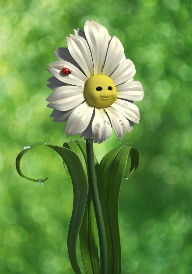 Happy Daisy Royalty Free Stock Photo