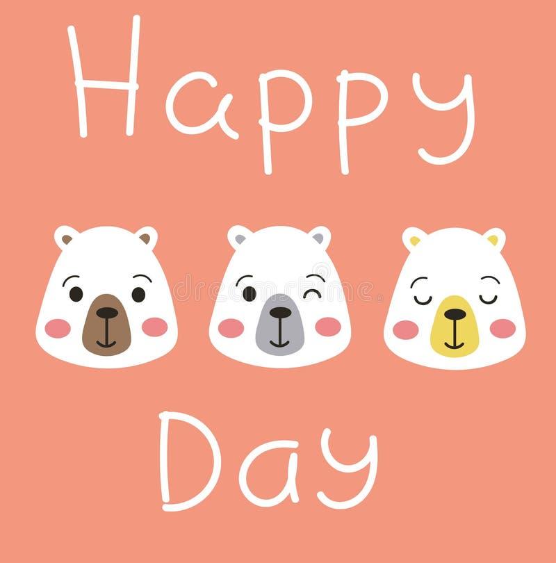 Happy Day ! stock illustration