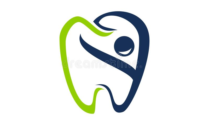 Happy Dental Care royalty free illustration