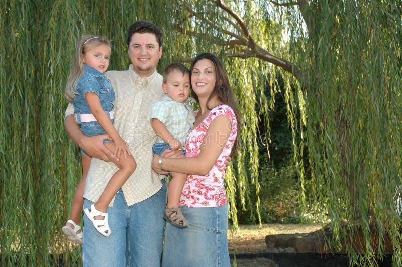 Happy Diverse Family Royalty Free Stock Photos