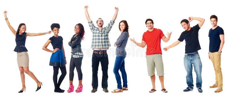 Happy Diverse People Stock Photos