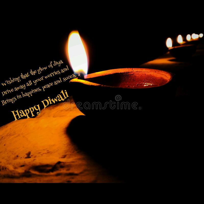 Happy diwali .. stock photos